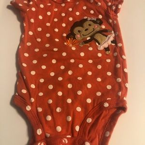 **10items for$9**carters monkey onesie